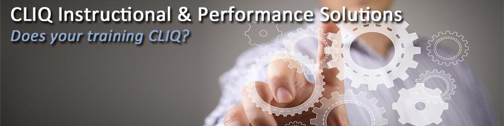 CLIQ Instructional & Performance Solutions